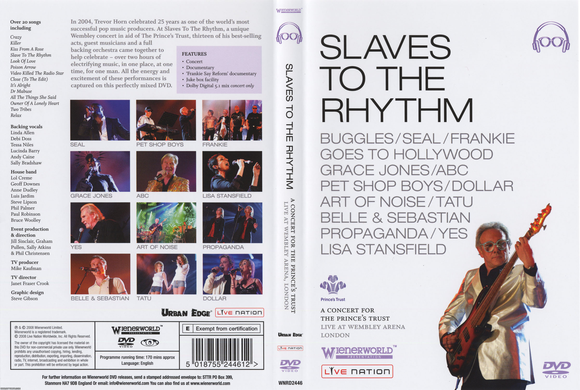 Slaves to the rhythm (Recorded live at Wembley Arena, London