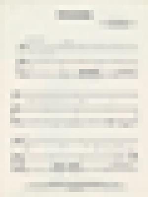 Sheet music for  'Paranoimia', page 2 image thumbnail.