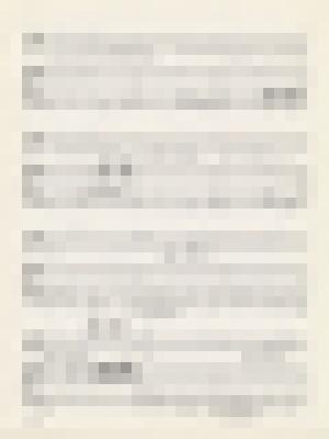 Sheet music for  'Paranoimia', page 3 image thumbnail.
