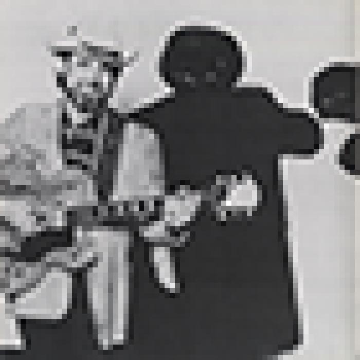 'Japan 1986' tour programme, page 6 image thumbnail.