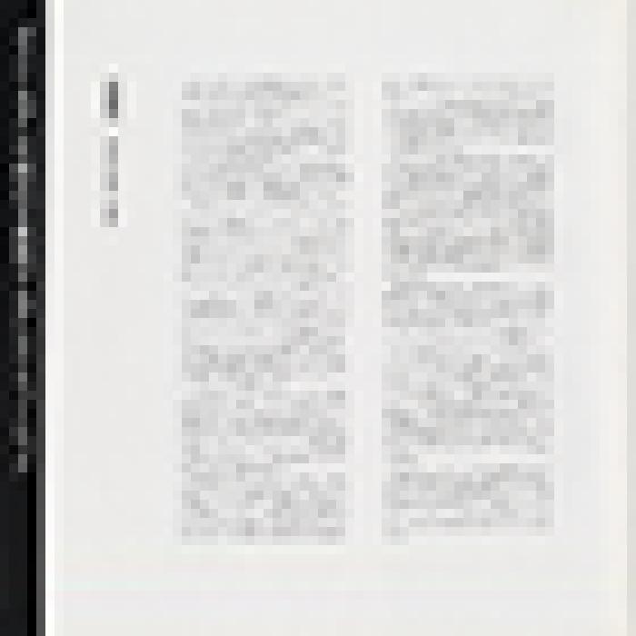'Japan 1986' tour programme, page 8 image thumbnail.