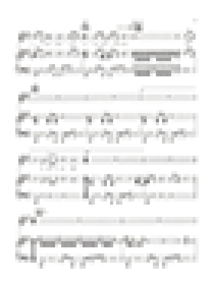 Sheet music for  'Kiss', page 5 image thumbnail.