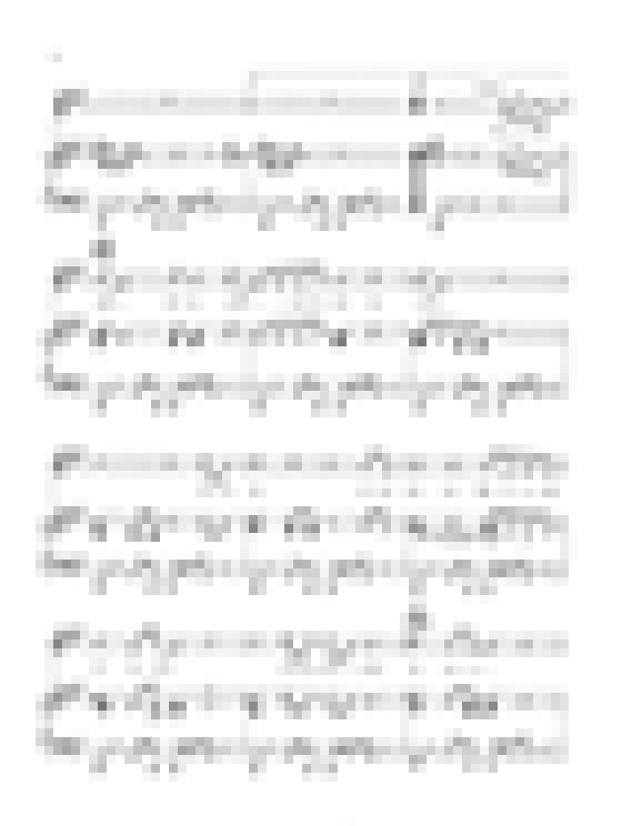 Sheet music for  'Kiss', page 6 image thumbnail.
